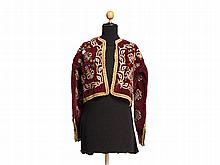 Court Velvet Jacket with Embroidery, Ottoman Empire, 19th C