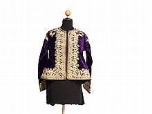 Velvet Jacket with Gold Embroidery, Ottoman Empire, 19th C