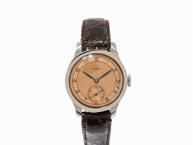 Longines Vintage Wristwatch, Switzerland, c. 1940
