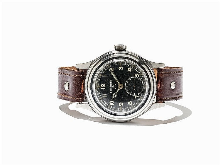 Longines Military Wristwatch, Switzerland, C. 1944