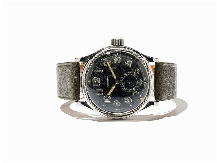 Movado Military Vintage Wristwatch, Ref. 12717, C. 1940