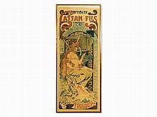 Alphonse Mucha (1860-1939), Original Poster 'Cassan Fils',1896