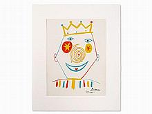 Pablo Picasso (1881-1973), Clown, France, 1962
