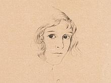 Christian Schad (1894-1982), Lithograph 'Lisa', Germany, 1931