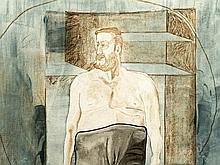 Martin Kippenberger (1953-1997), Aquatint, Self Portrait, 1997