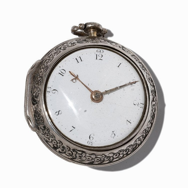 Bery Wilson Spindle Pocket Watch, London, c. 1800