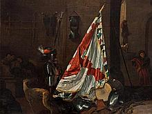 Johan Le Ducq (1629-1676/77), attr., The Guardroom, 17th C