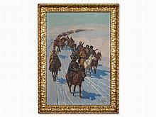 Franz Ivan Roubaud (1856-1928), Circassian Troops, 1880s/1890s