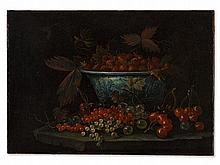 François Garnier, Museum-Quality Still Life with Fruit, c. 1640