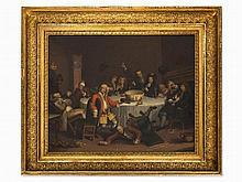 William Hogarth, after, Modern Midnight Conversation, 19th C
