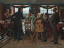 Robert Engelhorn (1856-1933), A Bavarian Party, around 1900