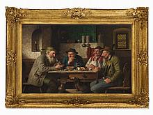 Josef Wagner-Höhenberg (1870-1939), Tavern Scene, early 20th C
