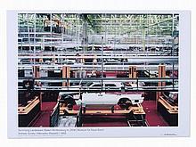After Andreas Gursky, Exhibition Poster Mercedes (Rastatt),´06