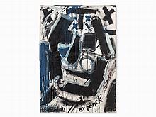 A.R. Penck / Frank Breidenbruch, Porträt von H. Zimcon, 1993