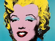 After Andy Warhol, 'Wandbild Andy Warhol türkis',Rosenthal,2012