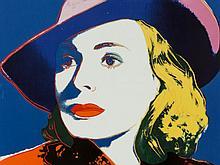 After Andy Warhol, 'Wandbild Ingrid Bergman', Rosenthal, 2011