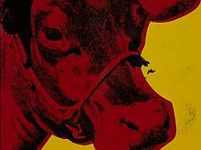 After Andy Warhol, 'Wandbild Cow', Rosenthal, 2011