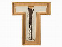 Hermann Nitsch (b. 1938), Performance Garment in Shrine, 1978