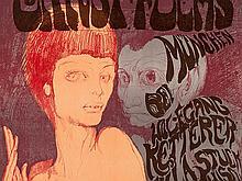 Ernst Fuchs, Das Ungleiche Paar, Lithograph, Poster, 1967