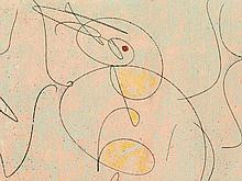 Max Ernst (1891-1976), Aquatint, Oiseaux, Germany, 1950-1973