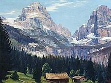 Anton Filkuka (1888-1957), Mountain Scene in Aussee, c. 1930