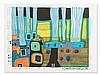 Hundertwasser, Silent Steamers, Combined Print, 1993/1994, Friedensreich Hundertwasser, €1,900