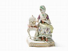Meissen, Figural Group 'Allegory - The Face', Late 19th C.
