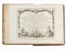 L'Abbé Courtalon, Atlas Empire D´Alemagne, Paris, 1774