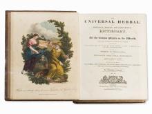 Thomas Green, The Universal Herbal, 2 Vol., Liverpool, 1816-20