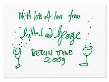 Gilbert & George, Drawing 'Lots of Love', 2009