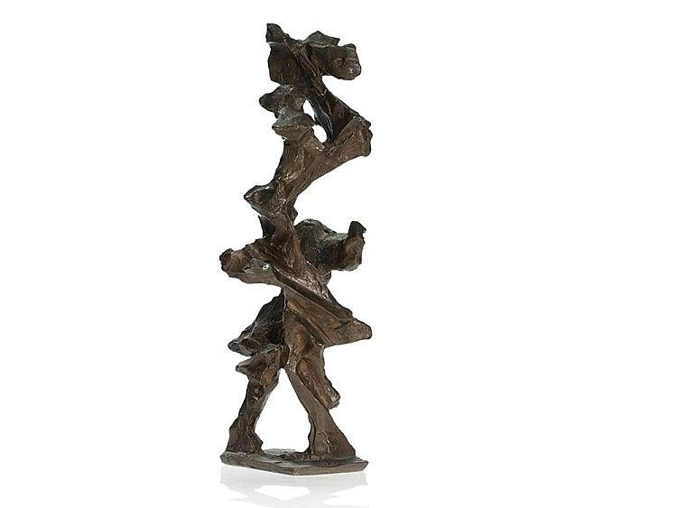 Andreas Urteil (1933-1963), Bronze, Twisted Figure, c. 1960