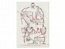 Martin Kippenberger (1953-1997), Drawing, 'Faule Sau', 1991