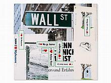 Martin Kippenberger, Color Offset lithograph, Wall St, 1993