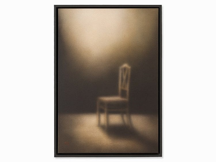 Nikolai Makarov (b.1952), Painting, 'Chair', 1999