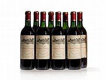 8 bottles 1988 Château Calon-Ségur, Saint-Estèphe