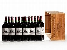 12 bottles 1995 Château Beychevelle in original wooden case