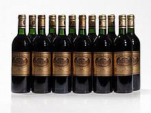 12 bottles 1988 Château Batailley, Pauillac