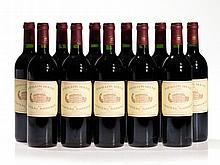 11 bottles 1996 Château Margaux Pavillon Rouge, Margaux