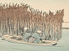 Utagawa Kuniyoshi, Colored Woodblock Print, Japan, 1830-1835