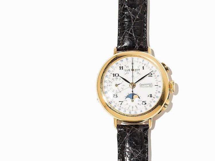 Eberhard Vintage Chronograph, Switzerland, Around 1990