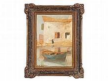 Michalis Economou (1888-1933), 'Fisherman House', c. 1930