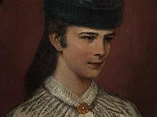 Richard Bitterlich (1862-1940), Painting 'Sissi', around 1890