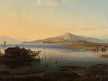 Nikanor Grigorevic Tschernezoff, 'View over the Volga', c. 1838