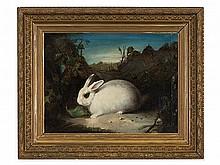 David de Coninck attributed, Painting, 'White Rabbit', 17th C