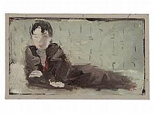 Dietz Edzard, Oil Painting, 'La sieste II', France, 1943