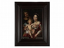 Jacob Jordaens (1593-1678) attributed, 'Venus and Cupid'