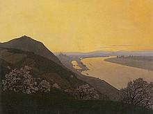 Felix Heuberger (1888-1968), View of Klosterneuburg, 1934