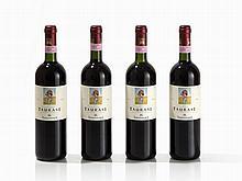 4 Flaschen 1999 Terredora di Paolo Fatica Contadina, Taurasi