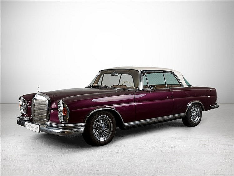 Mercedes-Benz 220 SEB Coupé, Model Year 1964