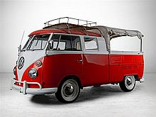VW T1 Crew Cab, model year 1966